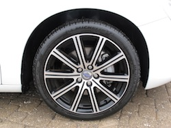 2014 Volvo S60 T6 AWD michelin alpin wheels rims white