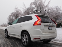 2014 Volvo XC60 T6 AWD rear side view