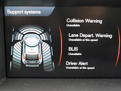 2014 Volvo XC60 T6 AWD support systems collision warning lane departure blis driver alert
