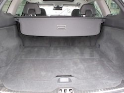 2014 Volvo XC60 T6 AWD trunk space view