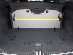2014 Volvo XC60 T6 AWD trunk space opened up view