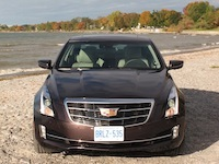 2015 Cadillac ATS Coupe brown