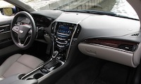 2015 Cadillac ATS Coupe interior beige leather