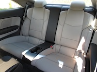 2015 Cadillac ATS Coupe beige rear seats