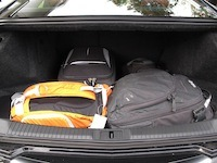 2015 Cadillac ATS Coupe trunk cargo storage