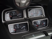 2015 Chevrolet Camaro SS Convertible auxiliary gauges interior