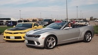 2015 Chevrolet Camaro SS Convertible and coupe 1le