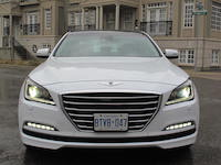 2015 Hyundai Genesis 5.0 V8 Ultimate front grill