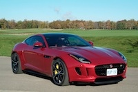 2015 Jaguar F-Type R Coupe red front