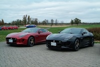 2015 Jaguar F-Type R Coupe red and black