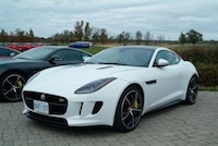 2015 Jaguar F-Type R Coupe white exotic supercars