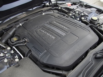 2015 Jaguar F-Type V6 Convertible engine supercharged