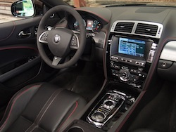 2015 Jaguar XKR-S Convertible Black red trim