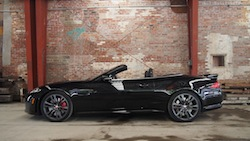2015 Jaguar XKR-S Convertible Black side