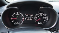 2015 Kia Forte5 SX Luxury White gauges tachometer