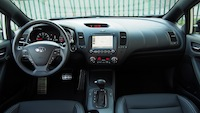 2015 Kia Forte5 SX Luxury White dash interior