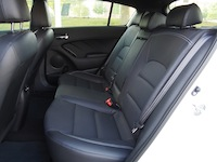 2015 Kia Forte5 SX Luxury White rear seats
