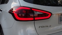 2015 Kia Forte5 SX Luxury White led rear lights