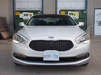 2015 Kia K900 V8 Elite front led head lights