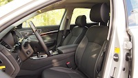 2015 Kia K900 V8 Elite front seats