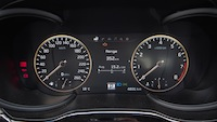 2015 Kia K900 V8 Elite retro gauges