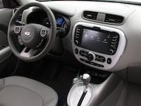 2015 Kia Soul EV dashboard interior