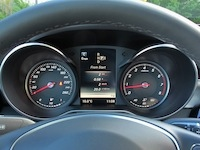 2015 Mercedes-Benz C300 4MATIC C400 gauges