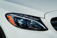 2015 Mercedes-Benz C300 4MATIC C400 head lamps