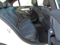 2015 Mercedes-Benz C300 4MATIC C400 rear seats
