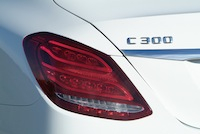 2015 Mercedes-Benz C300 4MATIC C400 tail lamps