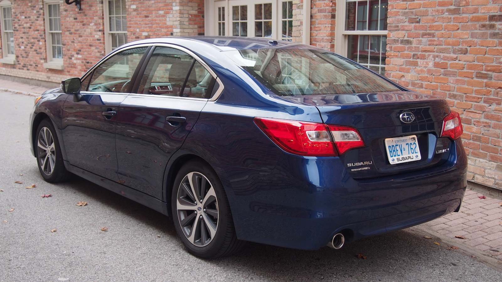 Review 2015 Subaru Legacy 2 5i Limited Canadian Auto Review