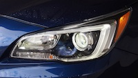 2015 Subaru Legacy 2.5i Limited front head lamps