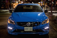 2015 Volvo V60 Polestar Rebel Blue