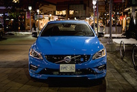 2015 Volvo Polestar Rebel Blue front lights off