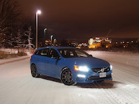2015 Volvo V60 Polestar ice and snow