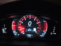 2015 Volvo V60 Polestar tft display