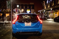 2015 Volvo Polestar Rebel Blue rear tail lamps