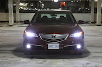 acura tlx front fog lights