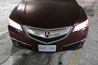 acura tlx front grill