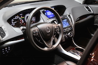 acura tlx v6 interior black