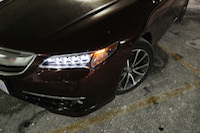 acura tlx led lights fender wheels
