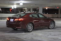 acura tlx dark night garage