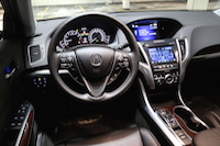acura tlx interior dashboard