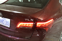 acura tlx rear badge