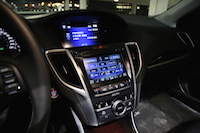 acura tlx touchscreen displays