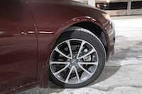 acura tlx 18 inch wheels fender