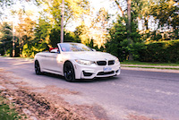 bmw m4 white red paint