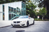 bmw m4 cabriolet white paint colour