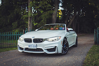 bmw m4 cabriolet metallic white