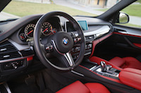 bmw x5m 2015 mugello red interior